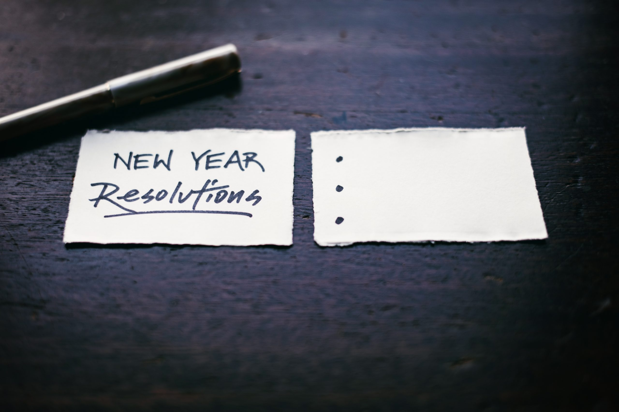 Resolutions & Intentions for the New Year